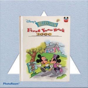Disney- Millenium First Year Book 2000